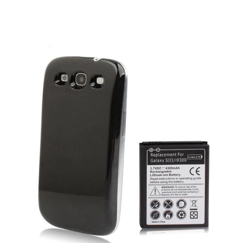 samsung galaxy s3 i9300 power acu bater a 4300mah bumper. Black Bedroom Furniture Sets. Home Design Ideas