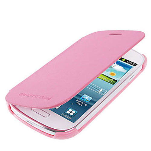 samsung galaxy s3 mini i8190 leder flip case etui tasche pink rosa ebay. Black Bedroom Furniture Sets. Home Design Ideas