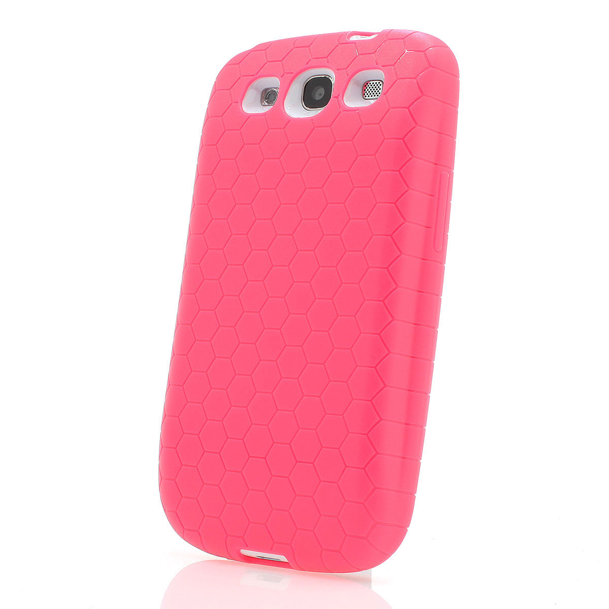 samsung galaxy s3 case bumper f r power akku 4300mah pink. Black Bedroom Furniture Sets. Home Design Ideas
